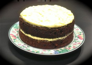 Sweet Potato and Orange Cake recipe