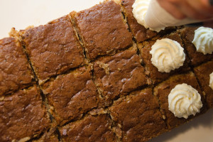 Rice Flour, White Chocolate and Coffee Brownie recipe