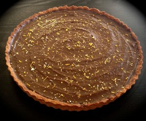 Avocado Chocolate and Orange Mousse Tart recipe