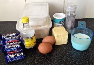 Chocolate Bar Cake recipe