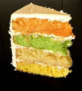 Multi-layer citrus cake recipe