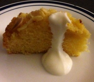 Orange Blossom Semolina Cake recipe