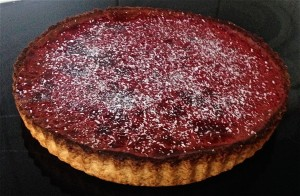 Coconut and Beetroot Tart recipe