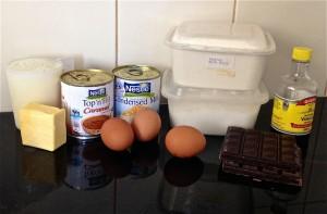 Caramel and Chocolate Flan Brulee Brownie