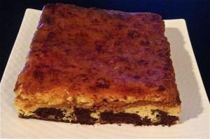 Caramel and Chocolate Flan Brulee Brownie recipe