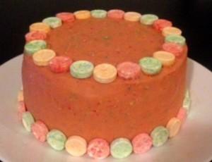 Fruit Tingle Cake Recipe