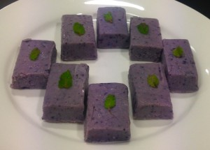 Lavender and Blueberry Fudge recipe
