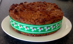 Quinoa Berry Christmas Cake recipe