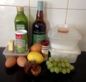 Fig and Grape Syrup Cake recipe