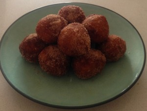 Malibu Rice Doughnuts recipe