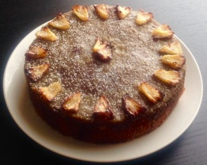 Ginger and Pineapple Butterscotch Cake recipe