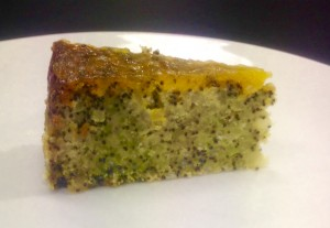 Orange and Poppy Seed Rice Cake recipe