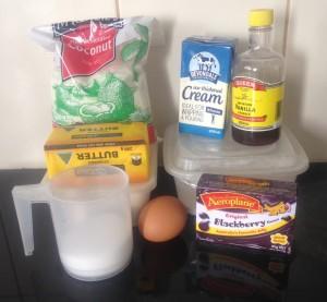 Blackberry Jelly Pillow Cakes recipe