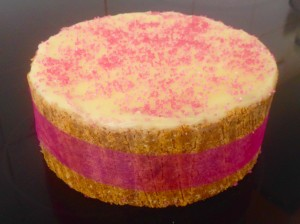 Bubblegum Cheesecake recipe
