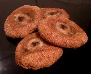 Sticky Date and Spiced Banana Cookies recipe