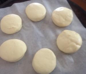 Jam Cheesecake Baked Doughnuts recipe