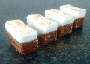 Spiced Bourbon Marshmallow Slice recipe