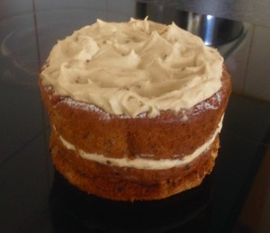 Coffee Almond and Marsala Cake recipe