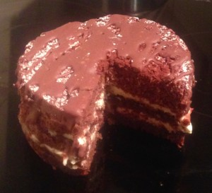 Chocolate and Orange Marmalade Sponge recipe