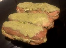 Green Tea and Pistachio Eclairs recipe