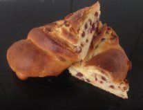 Lemon Cranberry and White Chocolate Babka recipe
