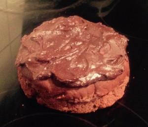 Yoghurt Chickpea Chocolate Cake recipe