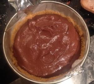 Spiked Spiced Chocolate Tofu 'Cheesecake' recipe
