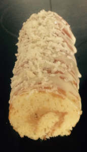 Lemon Almond and Lavender Roulade recipe