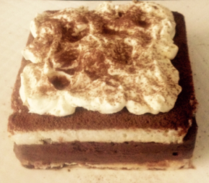 Chocolate Coconut Mousse Rum Cake recipe