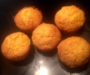 Carrot Pineapple and Coconut Cakes recipe