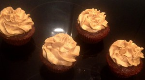 Date Bourbon and Chocolate Cakes recipe