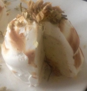 Jasmine Honey-Lemon Bombe Alaska recipe