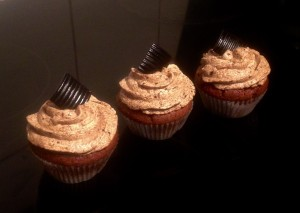 Licorice and Vanilla Cupcakes recipe
