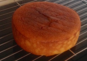 Orange Blossom Polenta and Yoghurt Syrup Cake recipe