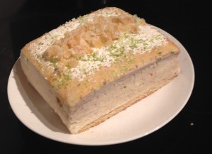 Frozen Ginger Gin and Citrus Cake recipe