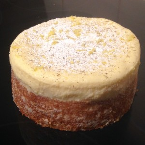 Lavender and Limoncello Mousse Cake recipe