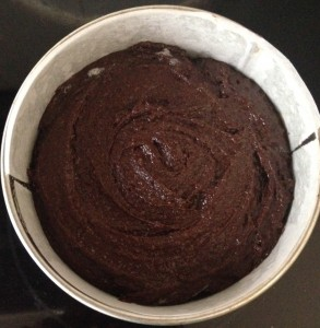 Vegan Black Bean and Chocolate Cake with Avocado Frosting