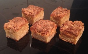 White Honey Blondies Recipe
