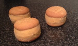 Carrot Cake Ice-Cream Biscuits Sandwich