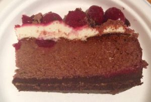 Ricotta Black Forest Cheesecake recipe