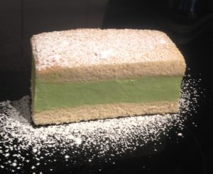 Coconut Lime Avocado Ice-Cream Sandwich Cake recipe