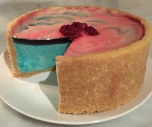 Blue Heaven Cheesecake recipe