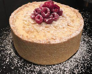 Butterscotch Macadamia and White Chocolate Cheesecake recipe