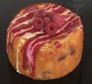 Raspberry Layered Apple Yoghurt Cake recipe