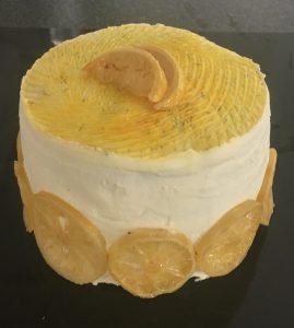 Lemon, Thyme and Zucchini Layer Cake recipe