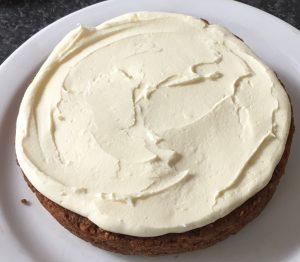 Spiced Caramel Apple Pie Cake recipe