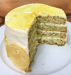 Lemon, Thyme and Zucchini Layer Cake recipe