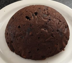 Chocolate Honeycomb Spiced Christmas Pudding recipe