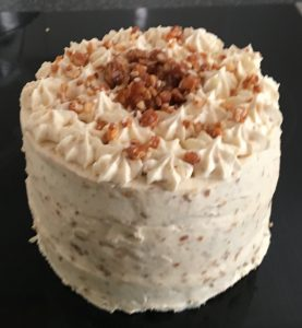 Honey and Almond Brittle Cake recipe