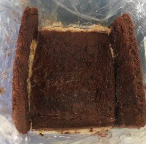 Mocha Layered Date Cream Cake